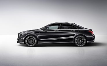 Mercedes CLA 220 Wit